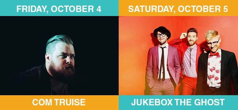 Com Truise Jukebox the Ghost at Kentucky's Edge