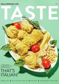 Taste Annual Guide 2019 Cover