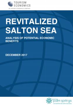 Revitalized Salton Sea: Potential Economic Benefits
