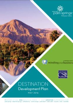 Destination Development Plan