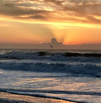 Sunrise at Carolina Beach
