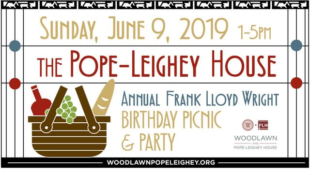 FLW Picnic - Pope Leighey House