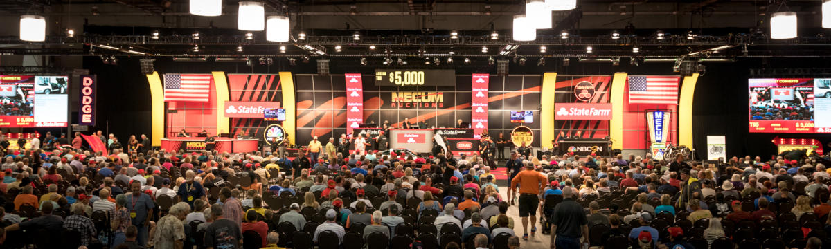 Mecum Auction Block Harrisburg