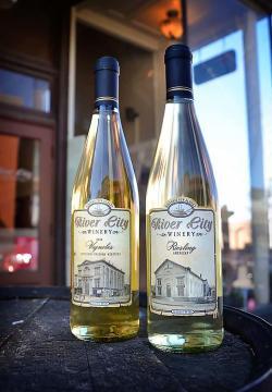 River City Winery bottles