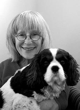 Peggy Turchette and her dog