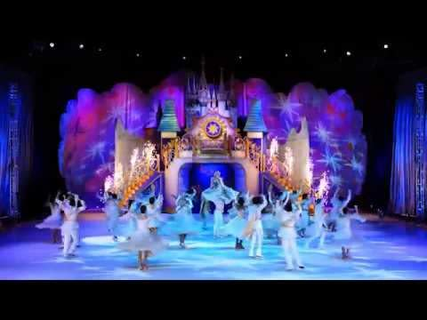 Disney on Ice performs a routine on stage at INTRUST Bank Arena in Wichita