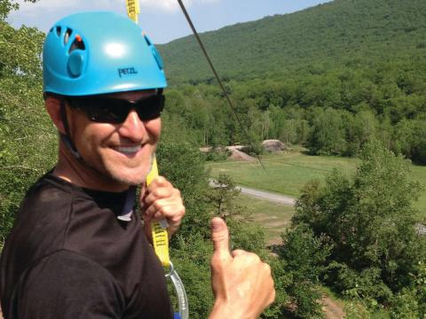 Whitewater Rafting Adventures Zip Line