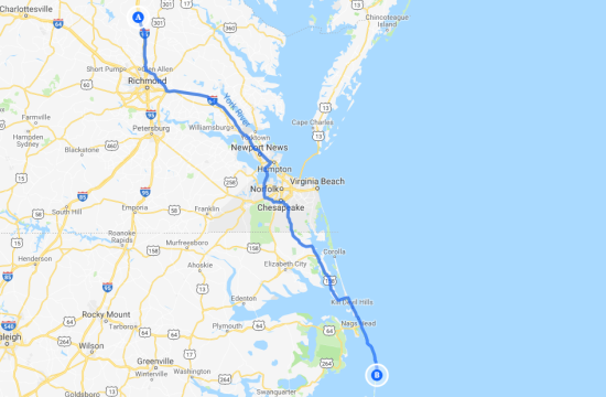 North to Outer Banks