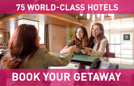 75 World Class Hotels - Book Your Getaway