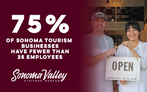 Sonoma Tourism is small business