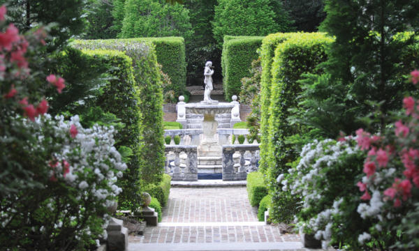 Elizabethan Gardens Interior
