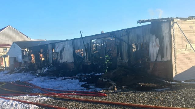 The fire completely gutted Barn Fresh