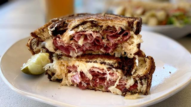 Reuben Sandwich from Home Grown Wichita