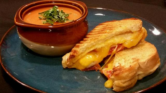 Triple Grilled Cheese Sandwich from The Kitchen