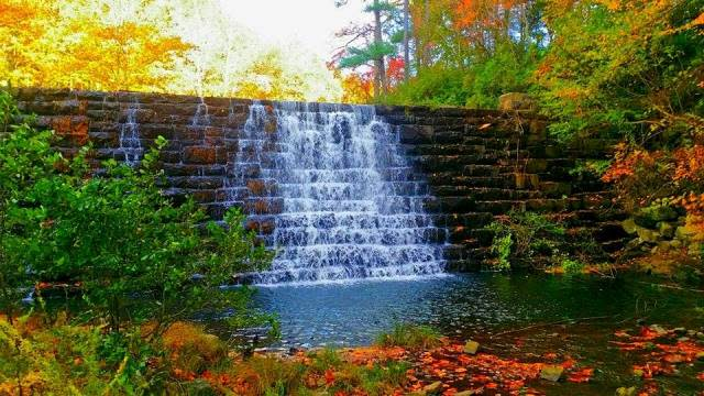 Fall Virginia Waterfall - Fall Photo