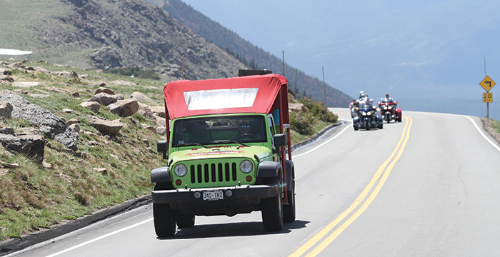 Tours Green Jeep Trail Ridge