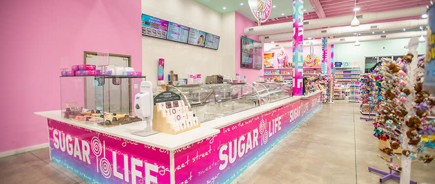 Sugar Life Ice Cream and Candy Bar Christmas Shopping