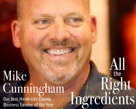 Mike Cunningham, Hendricks County Business Leader cover
