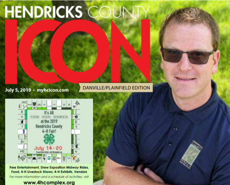 Ryan Lemley on the Hendricks County ICON cover