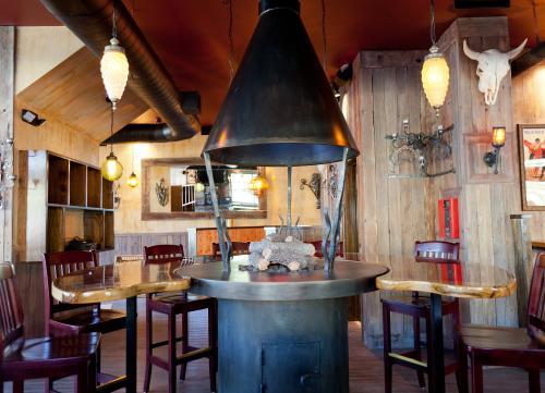 Firepit at The Matador restaurant