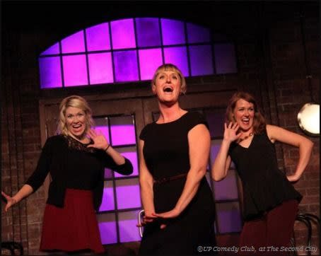 Performers at UP Comedy at the Second City
