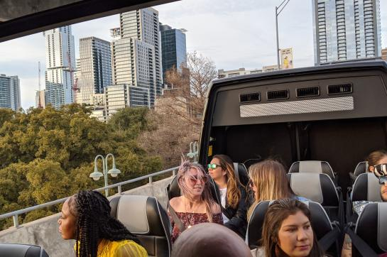 Group of guests on AO Tours Austin Very Best of Austin Tour