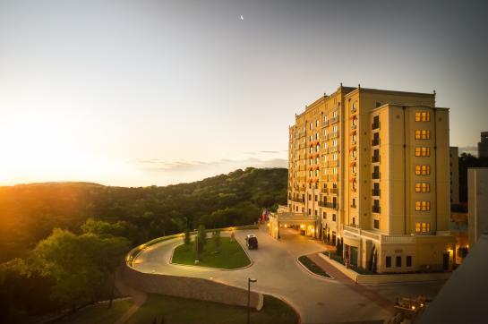 Sunset at Hotel Granduca
