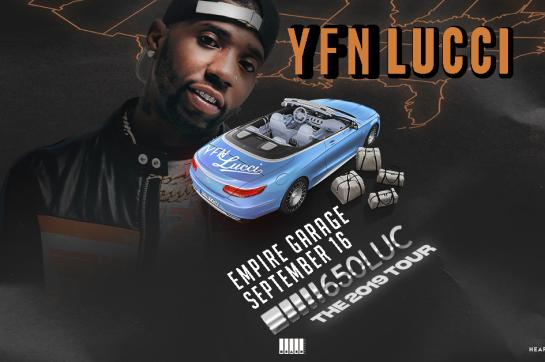 YFN Lucci at Empire Garage