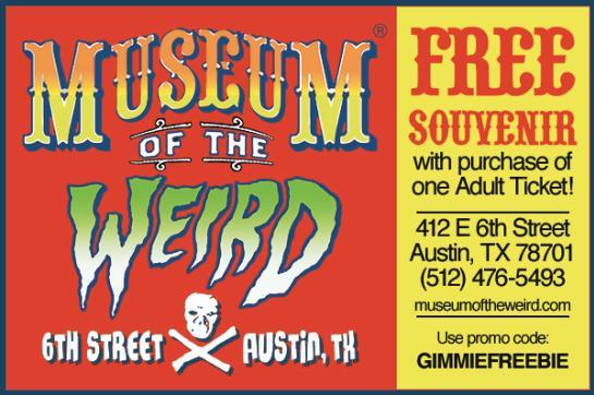 Museum Of The Weird Austin 8
