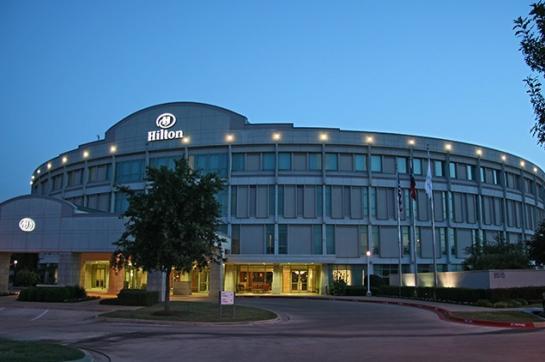 Hilton Airport exterior