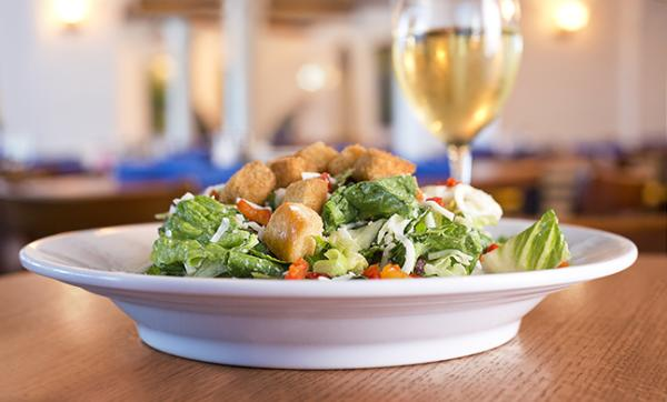 The Casaburo Salad from Casa! Ristorante in Fort Wayne, Indiana