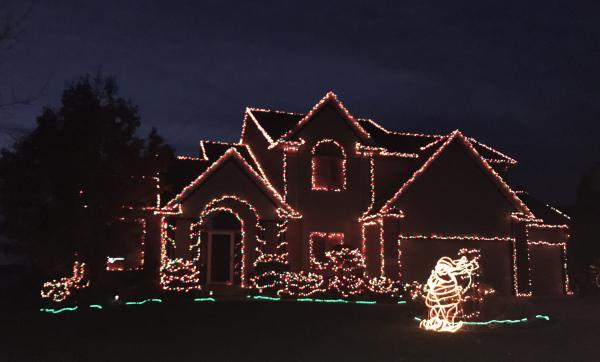 Best Christmas Lights Display - Pioneer Creek Court