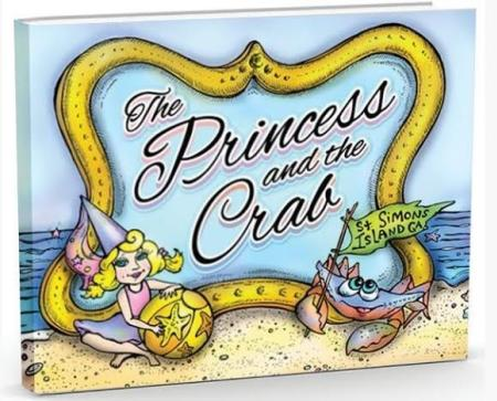 The Princess and the Crab St Simons Island, GA Book Cover