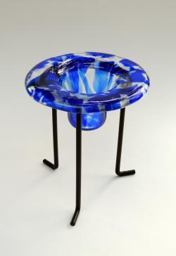 Yucca Art Gallery Drop Blue Vase