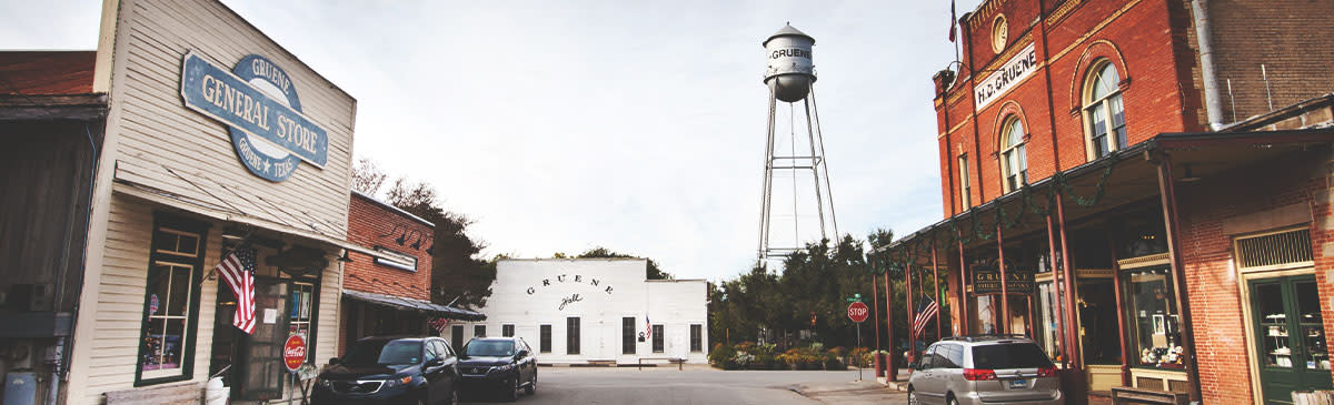 Gruene Panoramic Shot