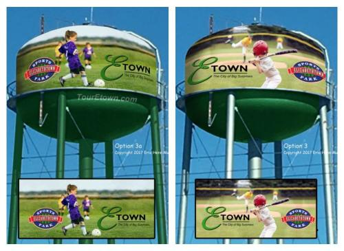 Water Tower Mural