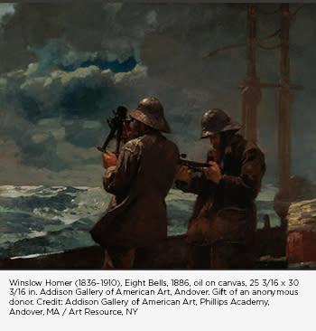 Winslow Homer Eight Bells