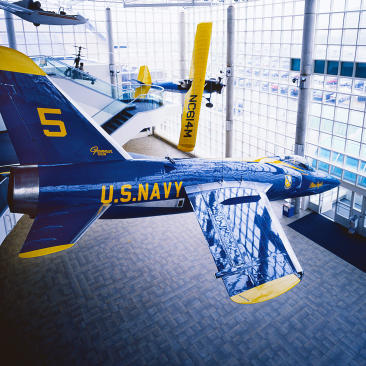 Blue Angel at Cradle of Aviation Museum
