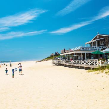Main Beach in East Hampton on Long Island