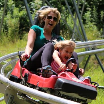 Holiday Valley Mountain Coaster