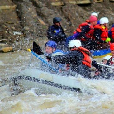 Zoar Valley whitewater rafting