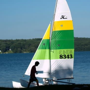 Sailboat at Chautauqua Institution