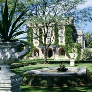 Exterior and gardens of Kykuit -John D. Rockefeller Estate
