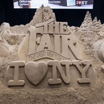 Sand Sculpture at the Great New York State Fair