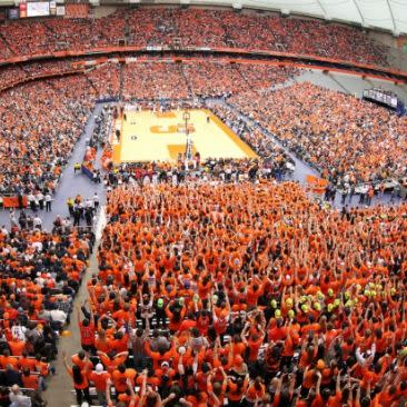 Carrier Dome at Syracuse - Photo Courtesy of the Carrier Dome