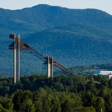 Olympic Jumping Complex, Lake Placid, Essex County- Adirondack Region