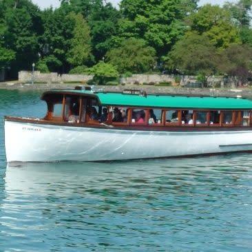Mid-Lakes Navigation boat