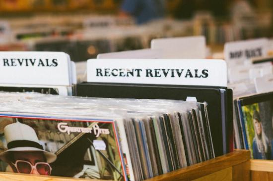 Favorite Rainy Day Activity - Revival Records