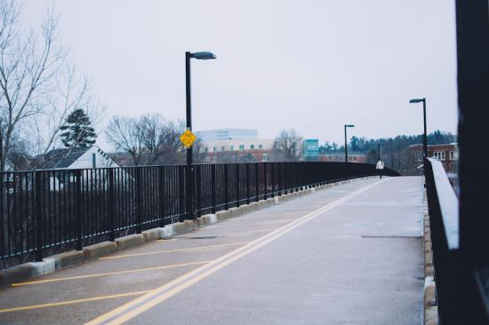 Favorite Place to #CaptureEC - UWEC Walking Bridge
