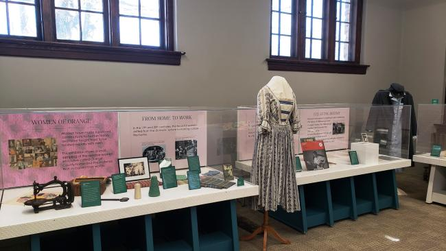 Women of Orange Exhibit at the Orange County Historical Museum